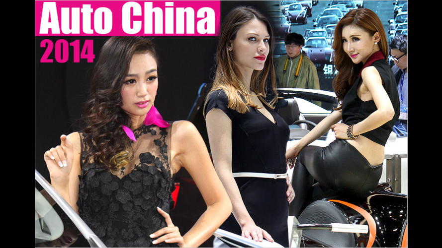 Auto China 2014: Die Girls