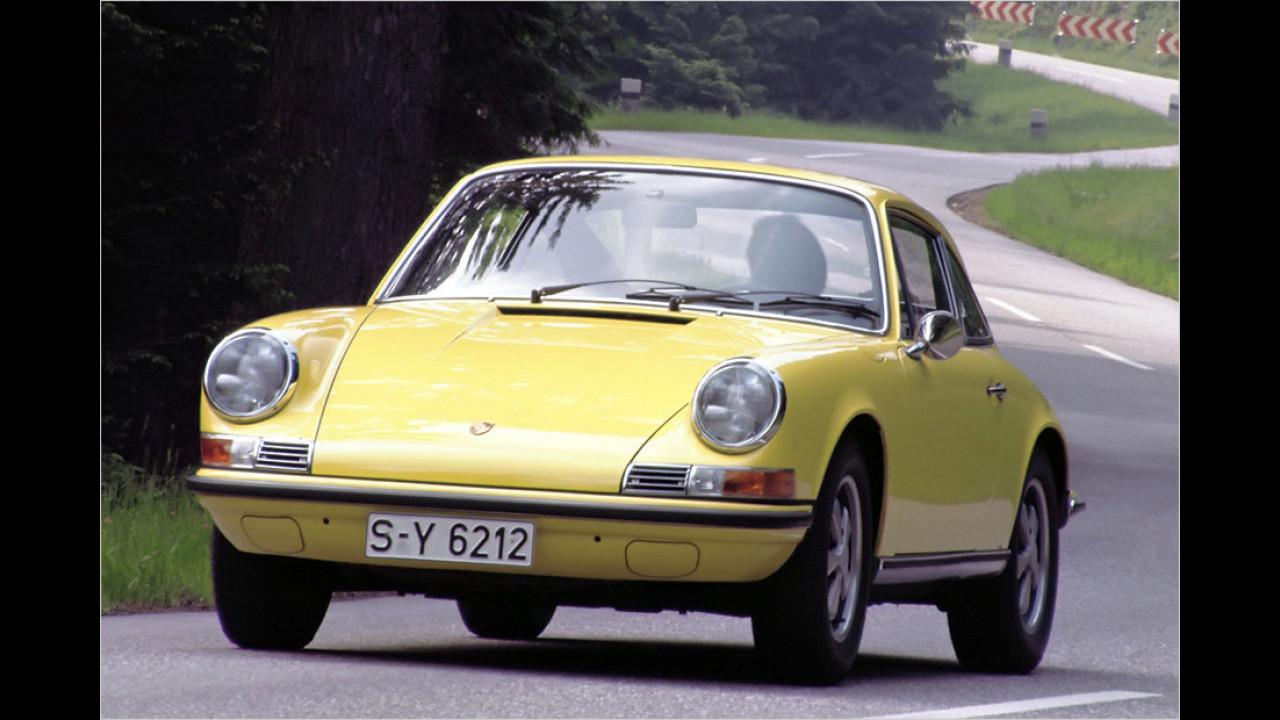 Platz 4: Porsche 911/912, 10.498 Fahrzeuge mit H-Kennzeichen