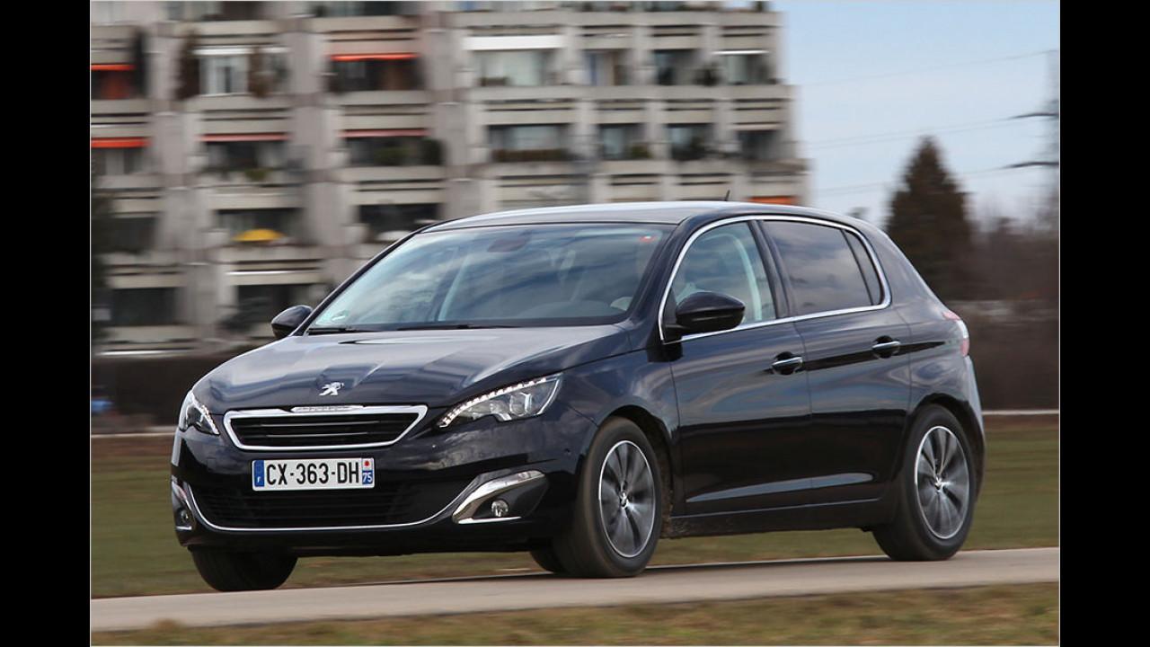 Platz 16: Peugeot 308