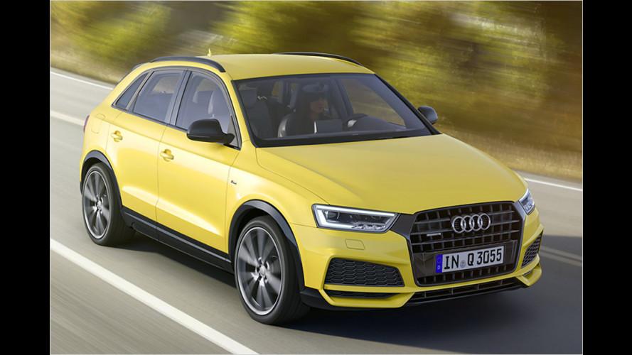 """,Facelift"""" für den Audi Q3"""