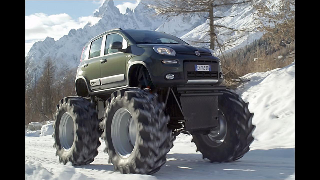 Fiat Panda 4x4 Monster-Truck