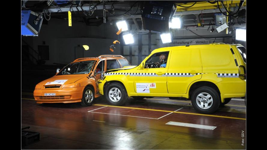 Die massige Gefahr: SUVs als Unfallgegner