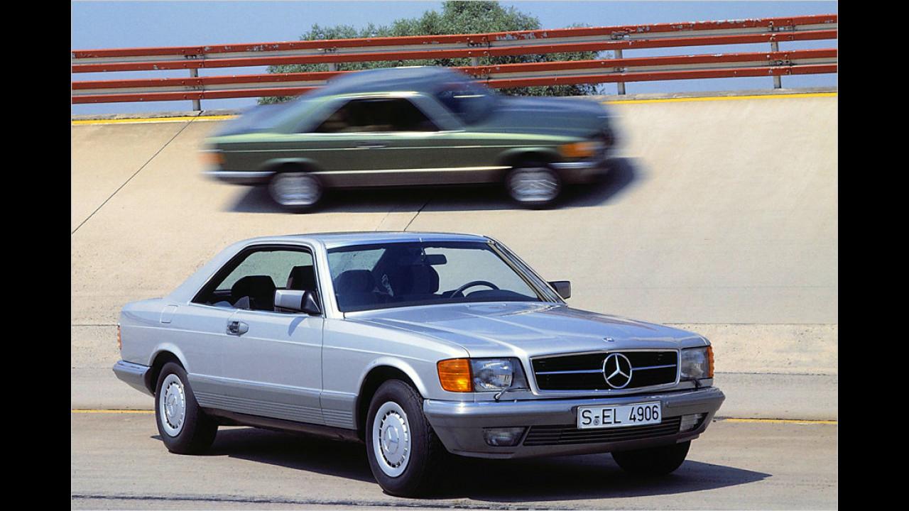 Mercedes 380 SEC (1981)