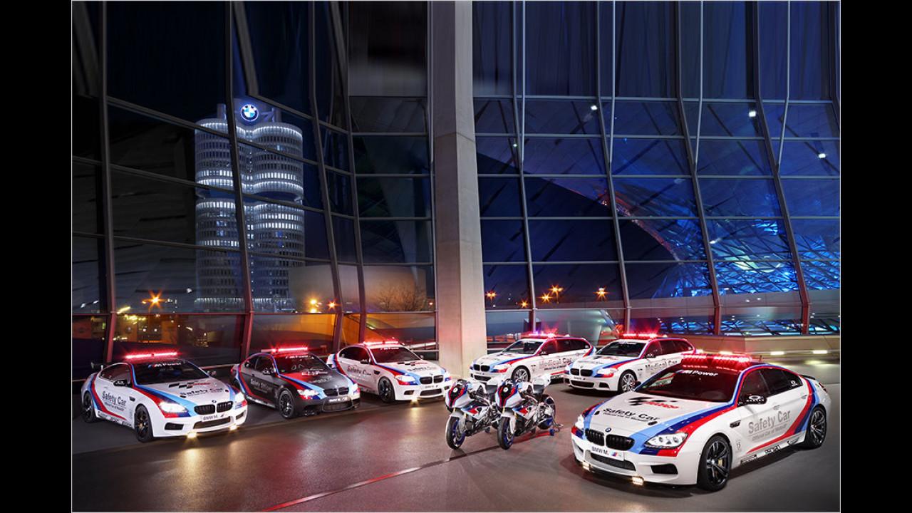 MotoGP 2013: BMW M6 Gran Coupé