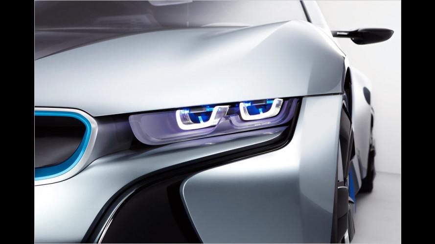 BMW erforscht Laserlicht und Medien-Assistent