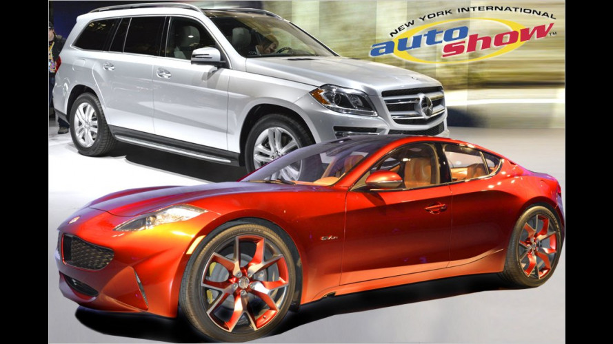 New York International Auto Show 2012: Die Highlights