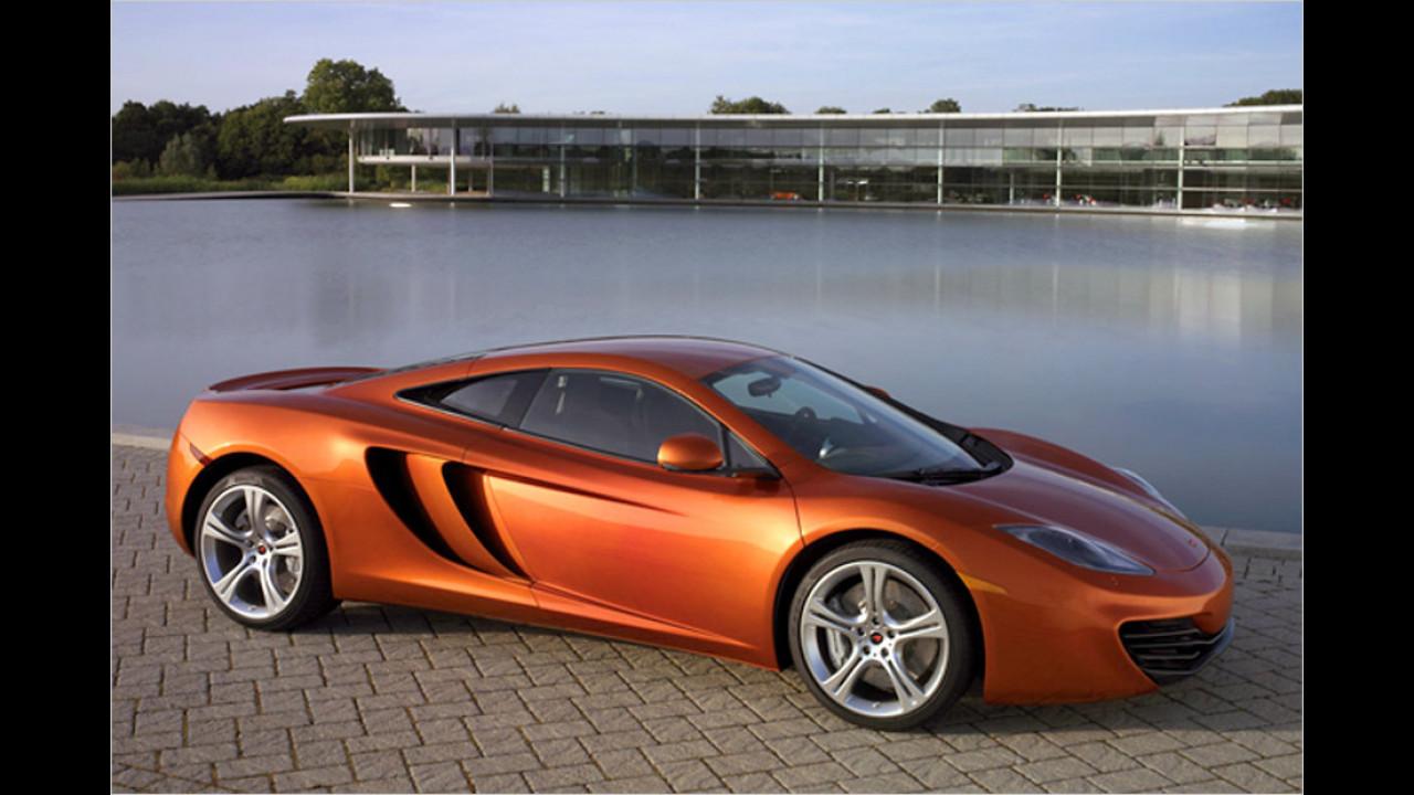 McLaren MP4-12C: 330 km/h