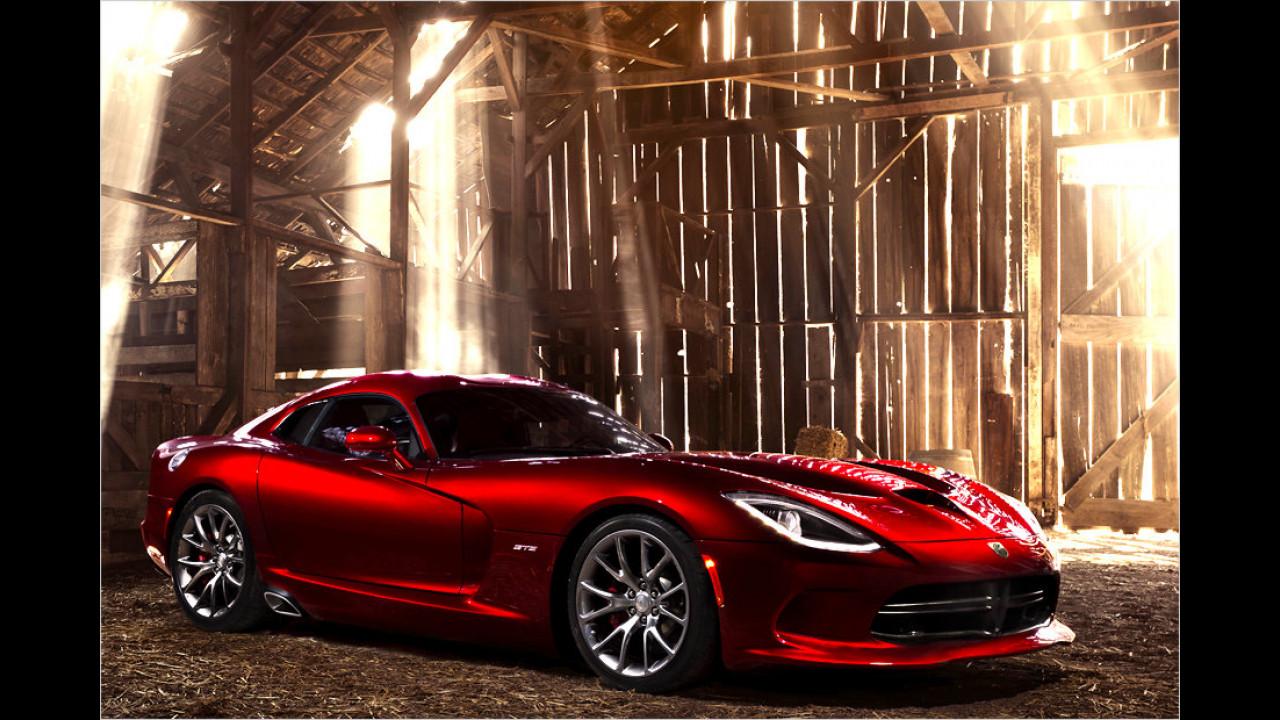 SRT Viper 2013: 331 km/h