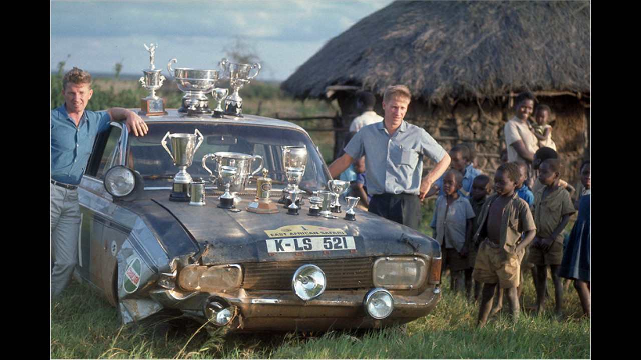 Ford Taunus 20 M East African Safari (1969)