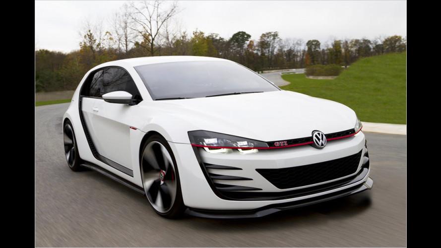 VW Design Vision GTI (2013) mit 503 PS: Unterwegs im stärksten GTI