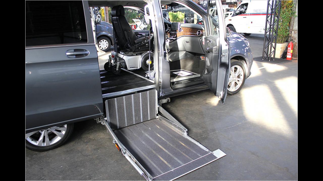Sprinter für mobilitätseingeschränkte Personen von Paravan