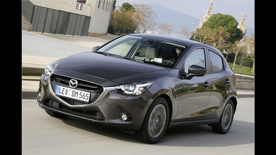 Mazda 2 Executive-Line mit 90 PS (2015) im Test