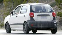 New Chevrolet Matiz Mule spy photos