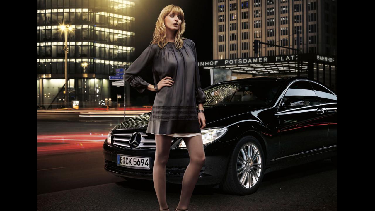 Eva Padberg ambasciatrice della moda per Mercedes