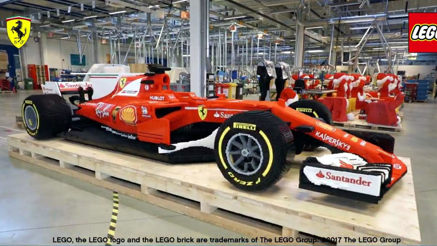 Watch Life-Size Lego F1 Car Come To Life In 750-Hour Timelapse