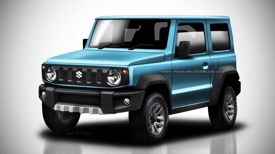 Design - Le nouveau Suzuki Jimny prend virtuellement de la couleur