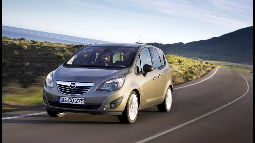 Nuova Opel Meriva: crescono i Diesel
