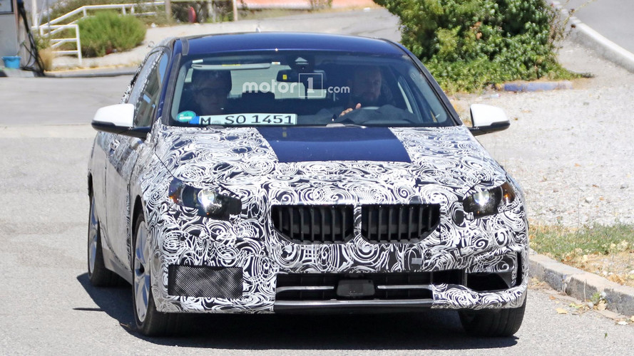 2019 BMW 1 Series Spied With Less Camo To Reveal Front Grille