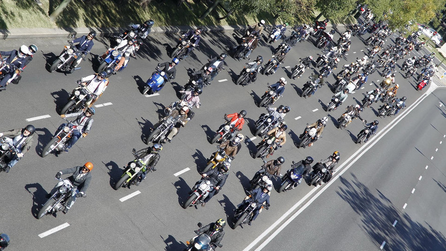 Triumph Distinguished Gentleman's Ride 2017