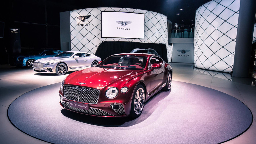 PHOTOS - La Bentley Continental GT, vedette de Francfort !