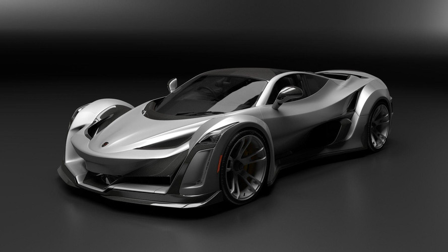 Porsche-Powered Anibal Icon Is Canada's Crazy 920-HP Hypercar