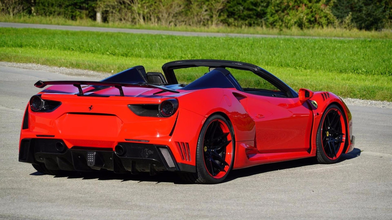 Ferrari 488 Spider N-Largo