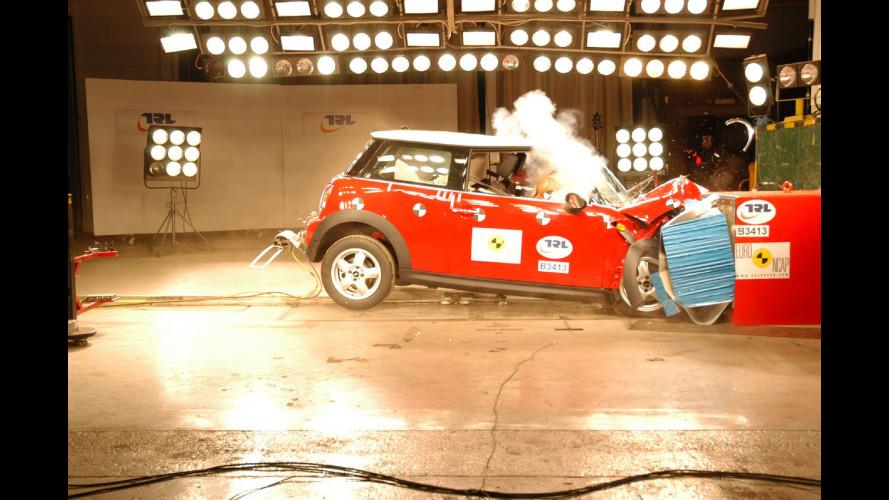 5 stelle Euro NCAP per la nuova MINI