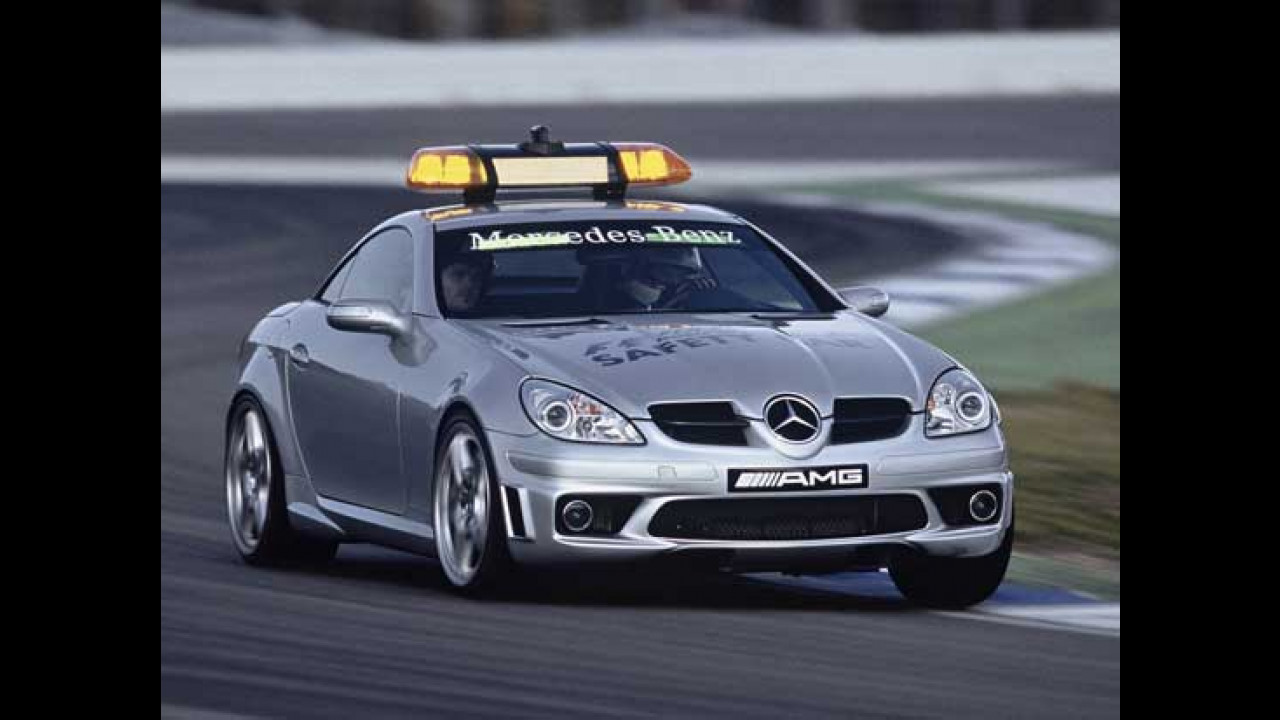 Mercedes SLK 55 AMG - Safety Car