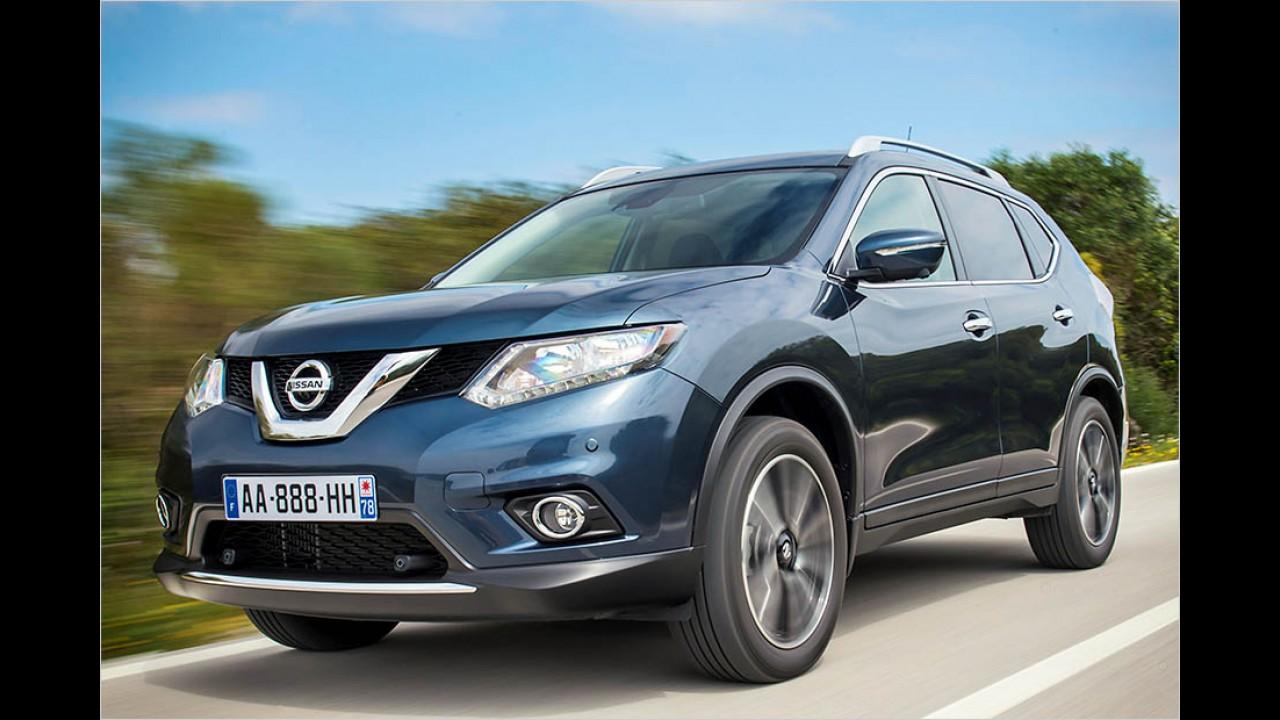 Platz 7: Nissan X-Trail