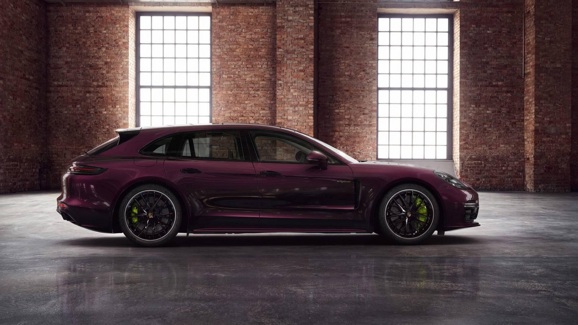 Porsche Panamera Turbo S E Hybrid Sport Turismo In Amethyst Metallic 2389040
