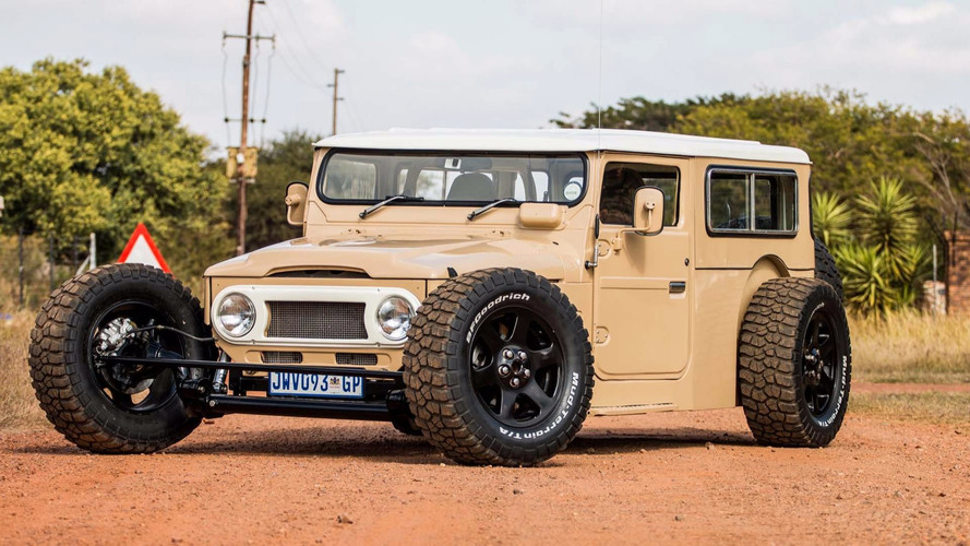 Toyota FJ40 Land Cruiser Hot Rod: una preparación increíble