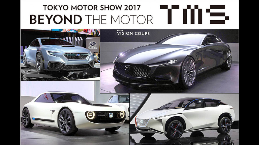 Tokyo Motor Show 2017: Die Neuheiten