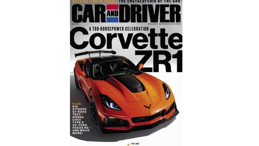 Corvette ZR1 images en fuite