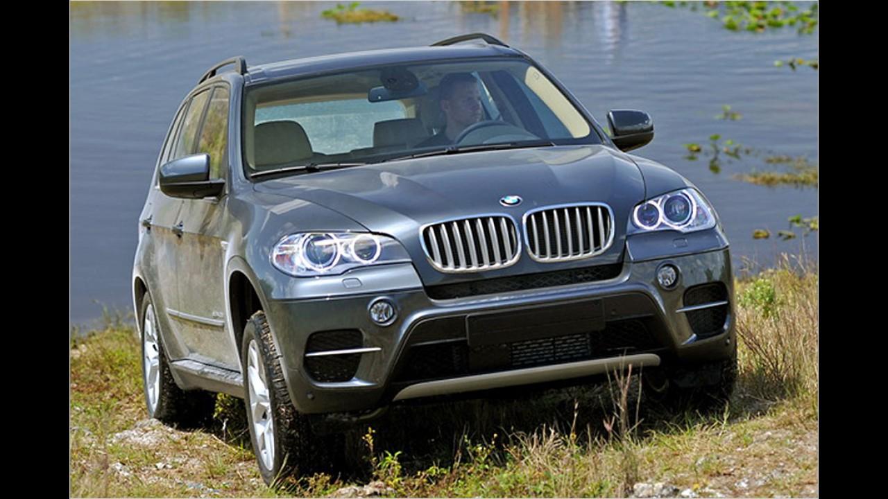 Platz 10: BMW X5/X6 3.0sd