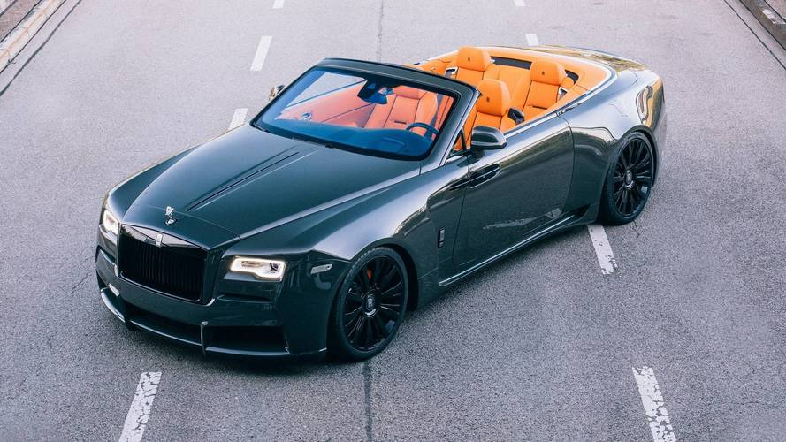 Rolls-Royce Dawn Muscles Up With Widebody And More Power