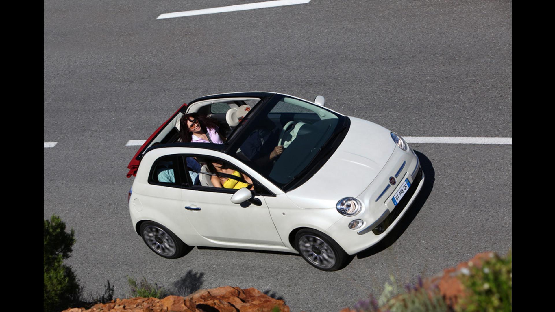Fiat 500c Un Tetto In Pompa Magna