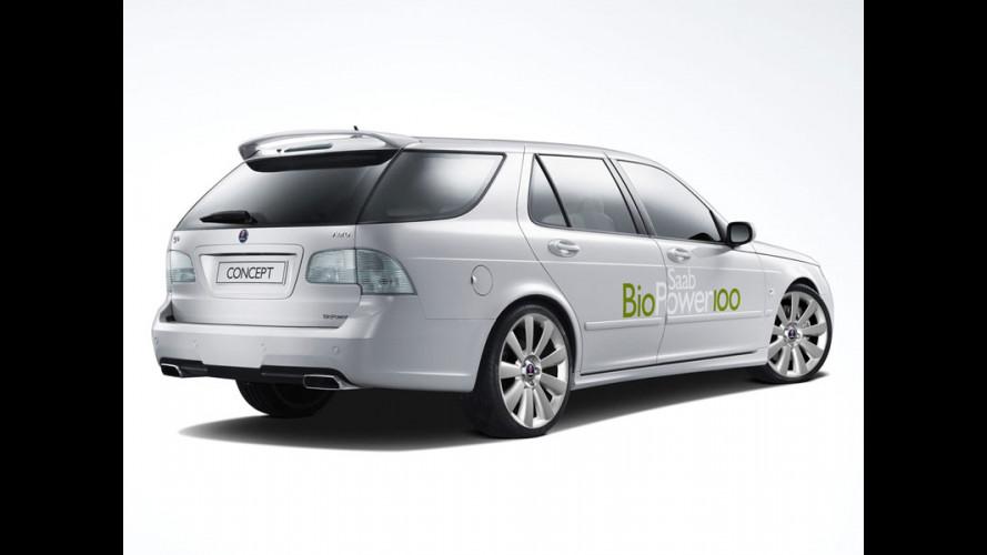 Saab BioPower 100: beve alcol puro!