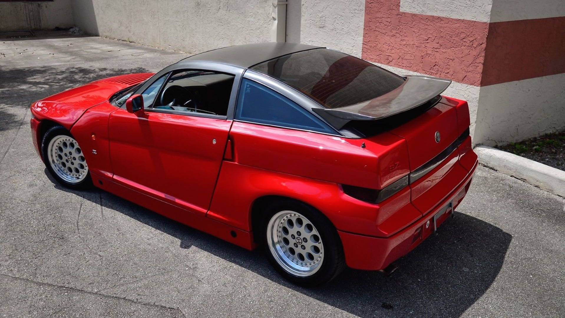 1990 Alfa Romeo Sz Ebay Find Is A Beautiful Monster