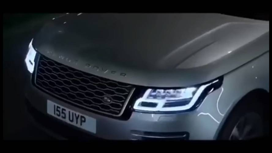 VIDÉO - Le Range Rover 2018 se montre avant l'heure