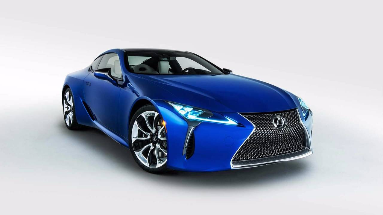 2018 Lexus LC 500 Inspiration Series