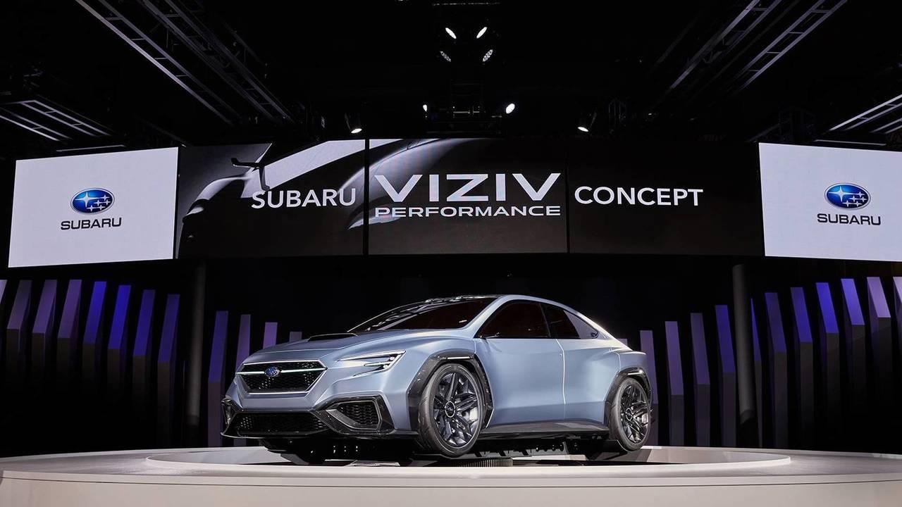 2017 Subaru Viziv Performance Concept Motor1com Photos