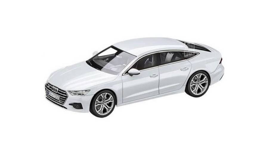 2018 Audi A7 Sportback Design Leaks Via Scale Model