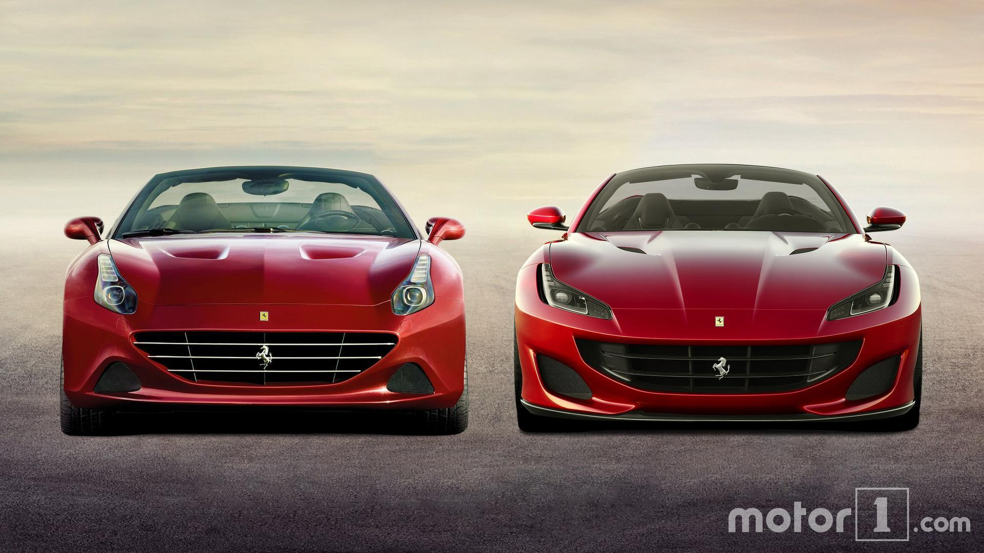 Ferrari California T >> Ferrari Portofino Vs California T See The Changes Side By Side