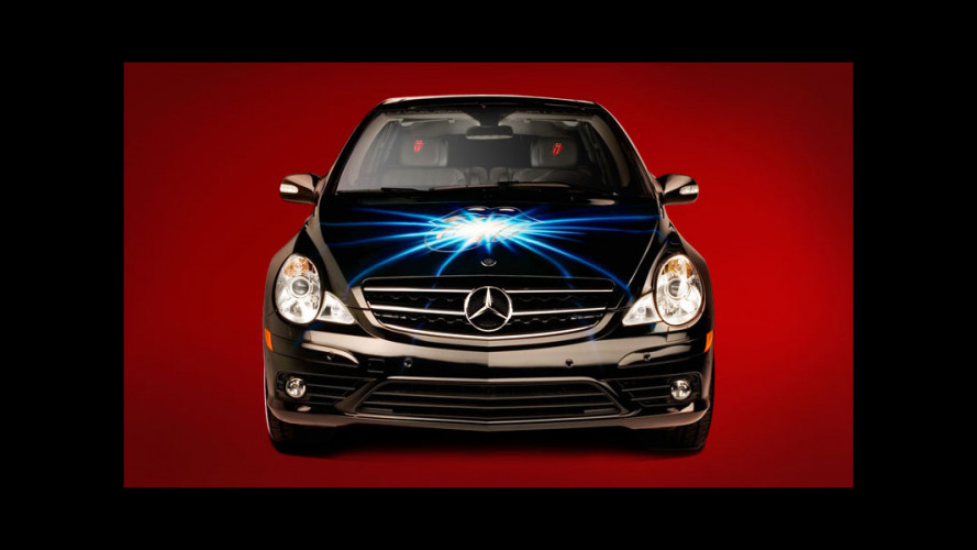 Mercedes Classe R Rolling Stones