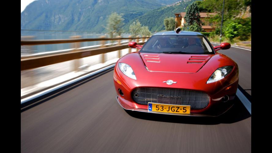 Spyker trasferisce la sua produzione in Inghilterra