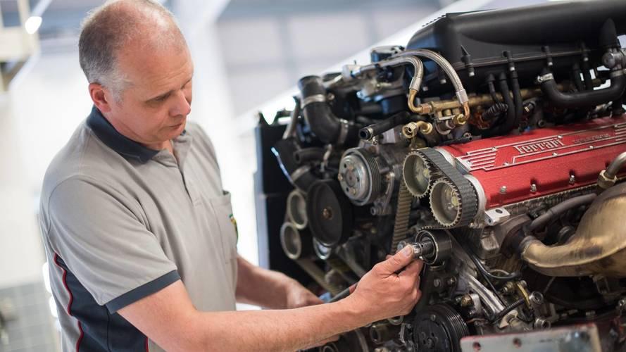 Un nouveau service de certification chez Ferrari