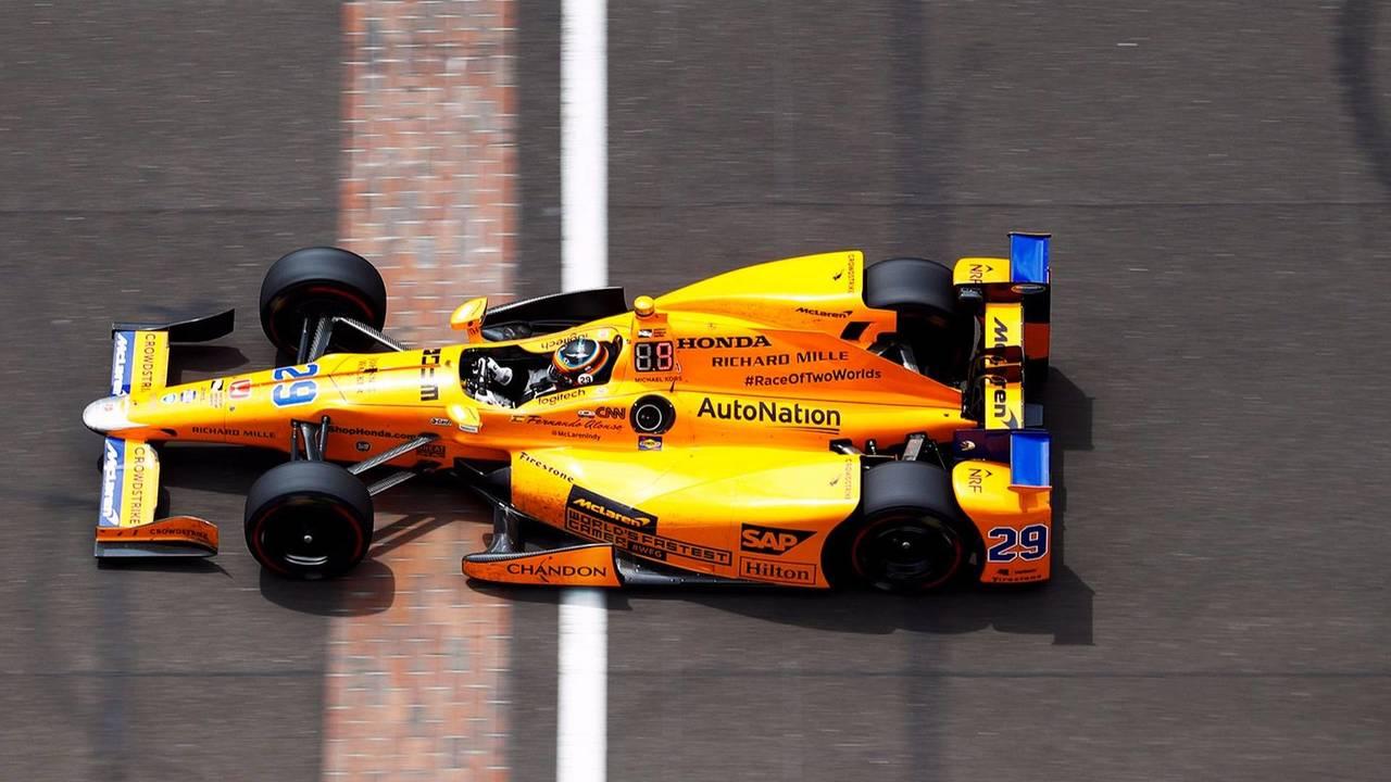 Alonso à Indy