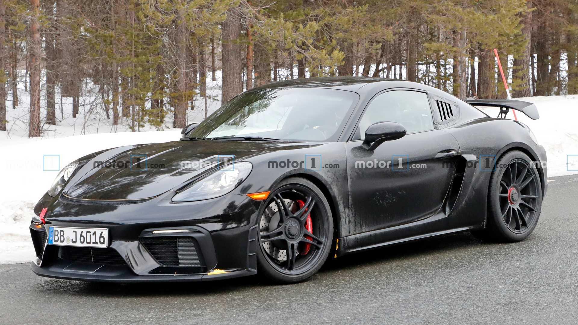 Porsche 718 Cayman Gt4 Rs Rumored To Pack 500 Horsepower