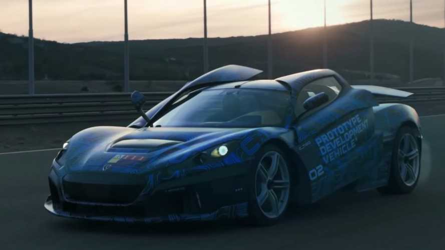 Nico Rosberg,'in yeni hiper otomobili Rimac C_Two oldu