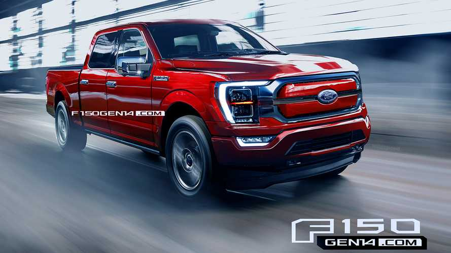 Ford F-150 Electric Pickup Truck Rendered With Help From Inside Sources
